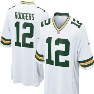 #12 Rodgers, Green Bay Jersey